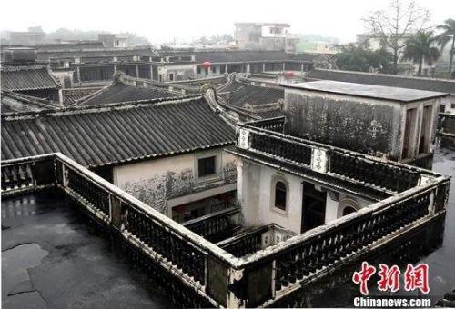 陈慈黉故居。中新社 张浩摄